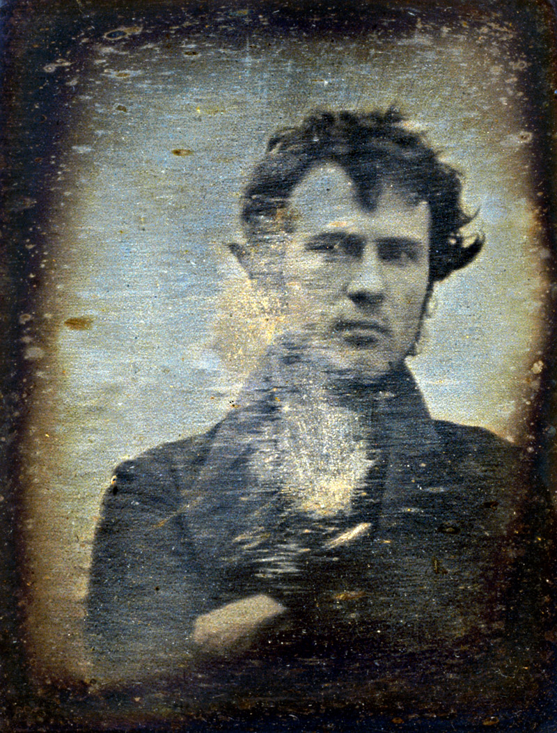 Robert Cornelius 1839 Self-portrait